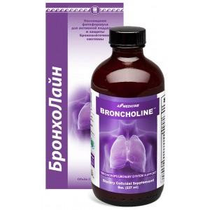 БронхоЛайн (BronchoLine) - способствует разжижению мокроты и облегчает её отхождение